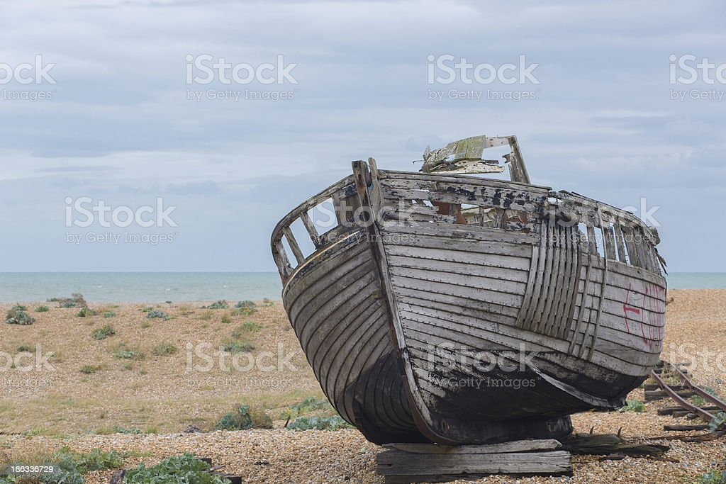 Old Rotting Boat royalty-free stock photo