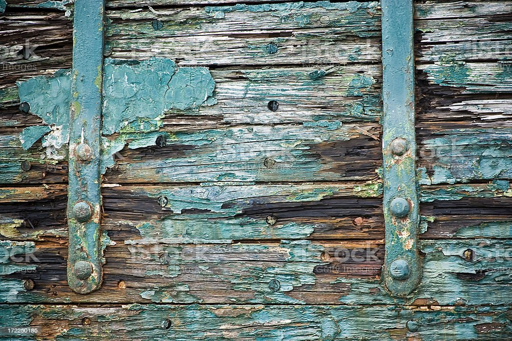 old rotting planks royalty-free stock photo