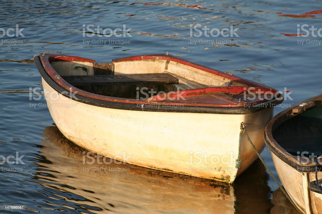 old rowing boat royalty-free stock photo