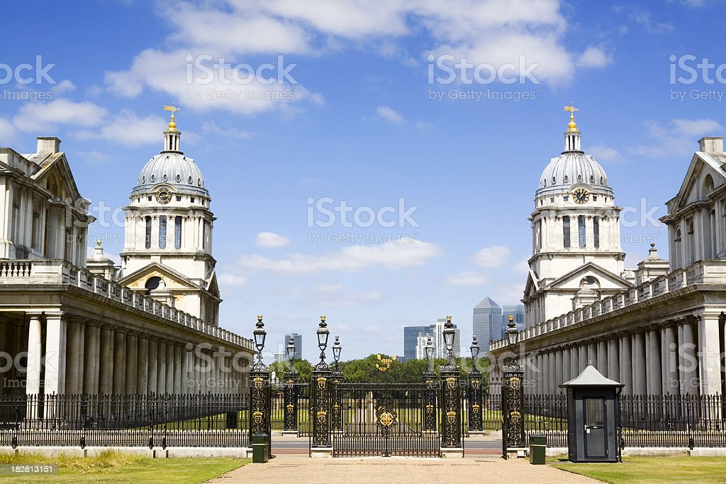 Old Royal Naval College Greenwich stock photo