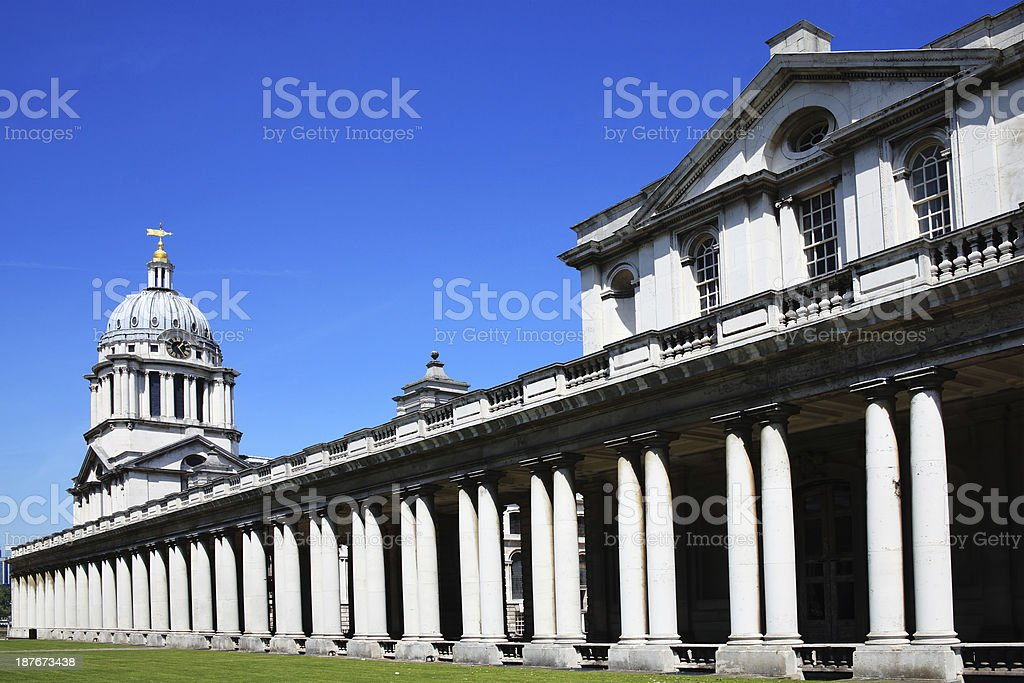 Old Royal Naval College, Greenwich stock photo