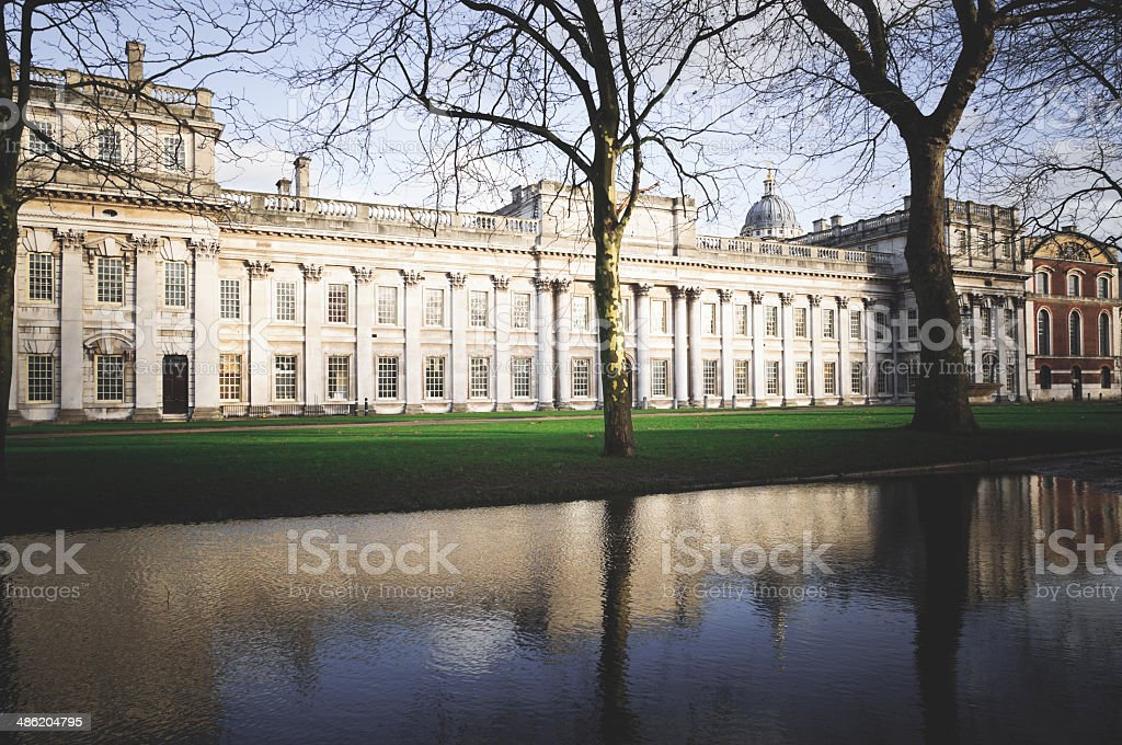 Old Royal Naval College stock photo
