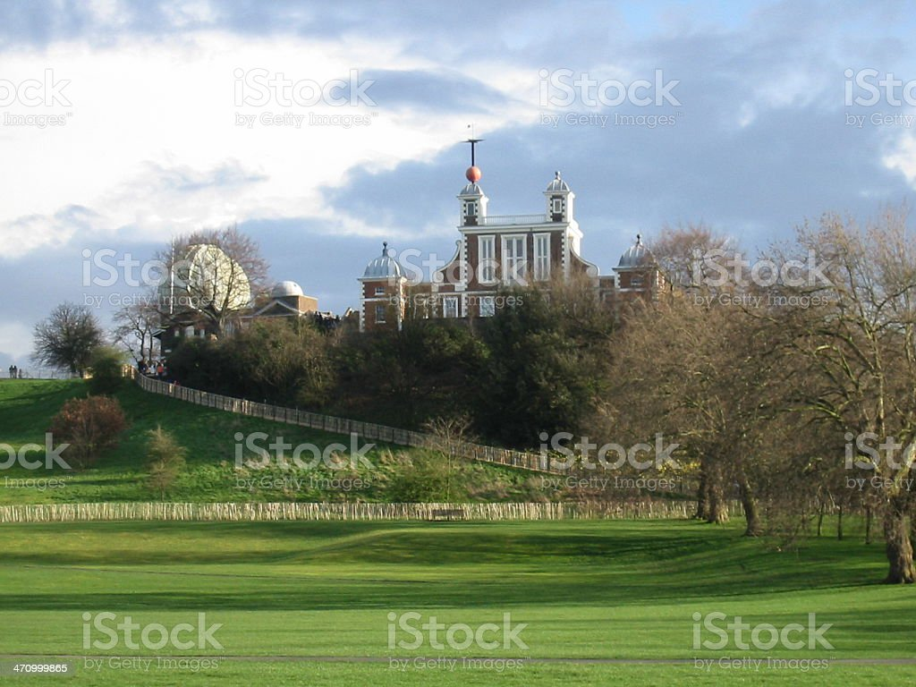 Old Royal Observatory royalty-free stock photo