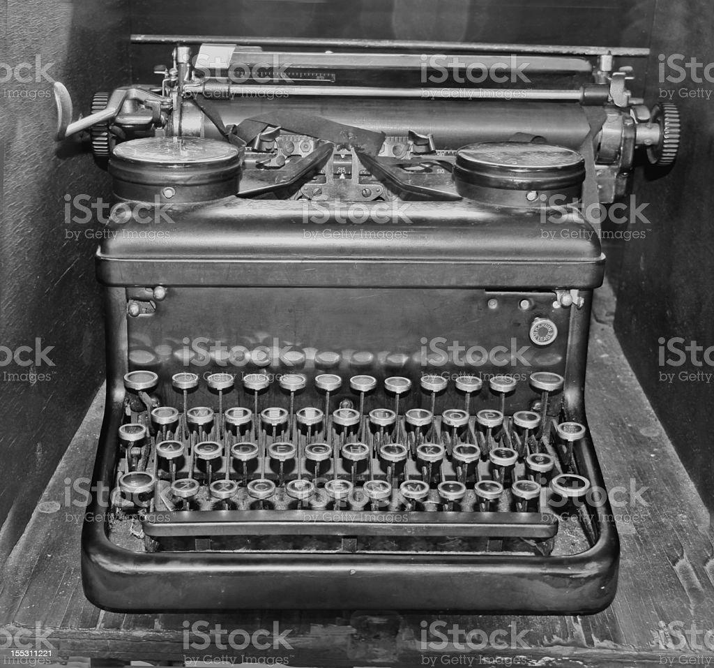 Old Royal Typewriter royalty-free stock photo