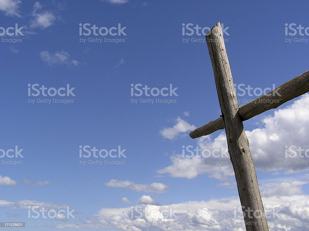 Old Rugged Cross royalty-free stock photo