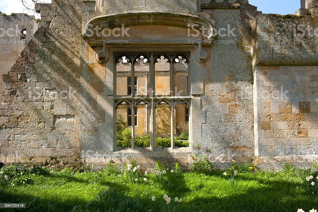 Old ruins stock photo