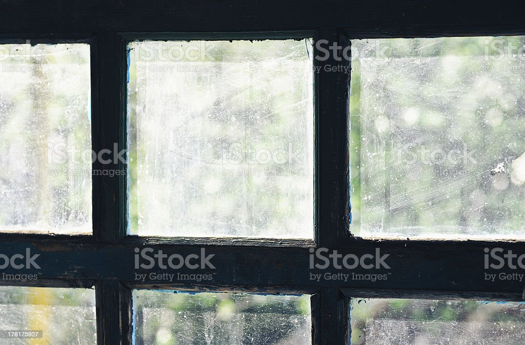 old rural window frame. abstract backgrounds royalty-free stock photo