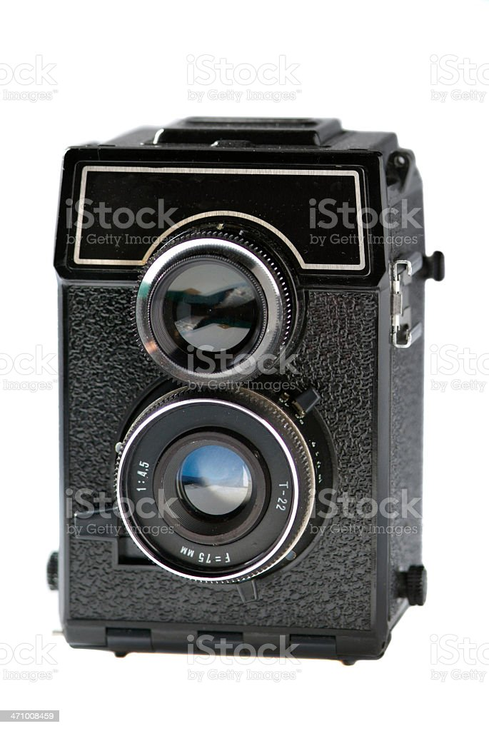 old russian camera royalty-free stock photo