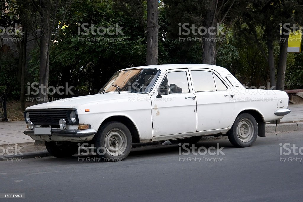 Old Russian car royalty-free stock photo