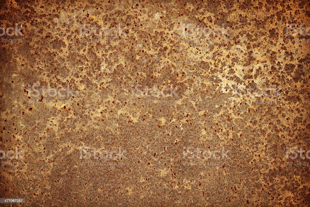 Old rust surface can be used for background and texture stock photo