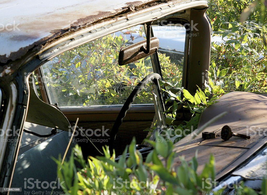 Old Rusted Car royalty-free stock photo
