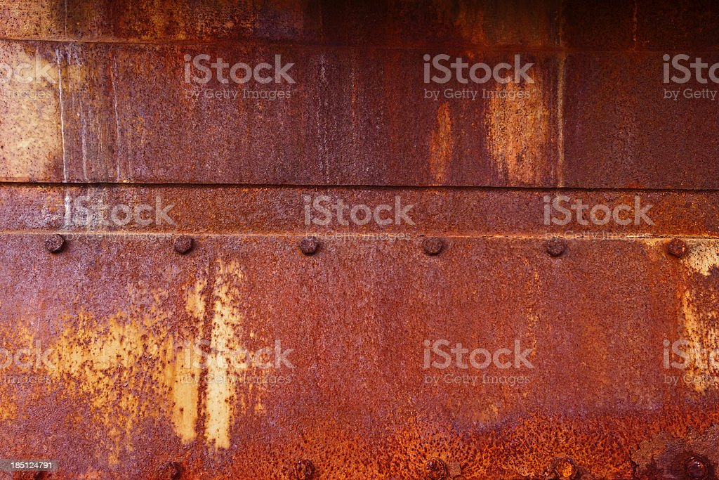 Old Rusted Grungy Metal XXXL Background royalty-free stock photo