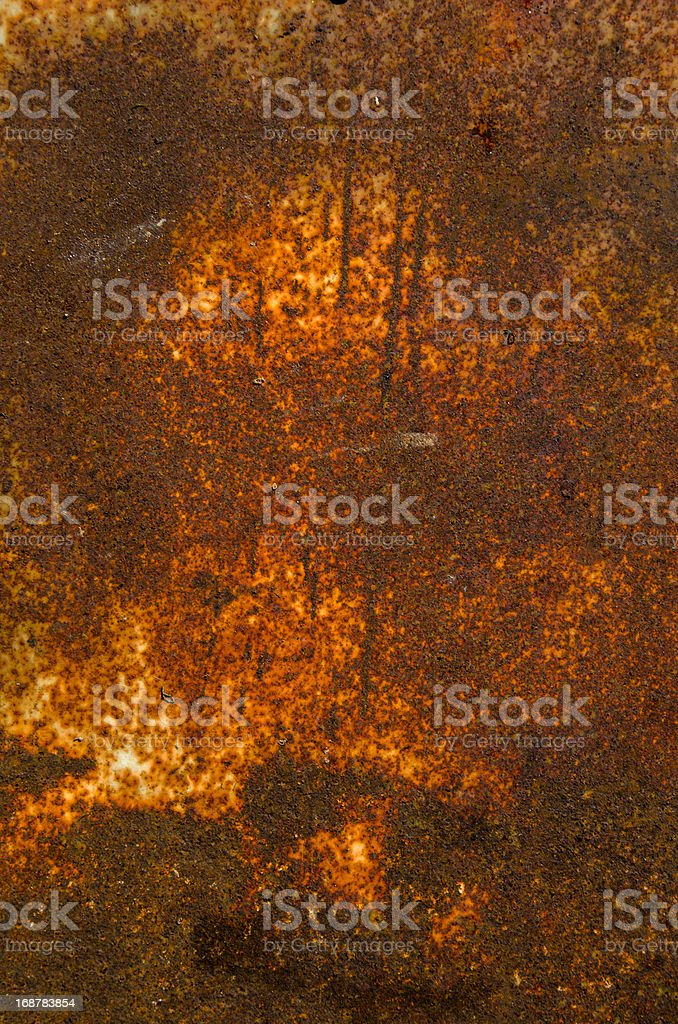 old rusted metal sheet background royalty-free stock photo