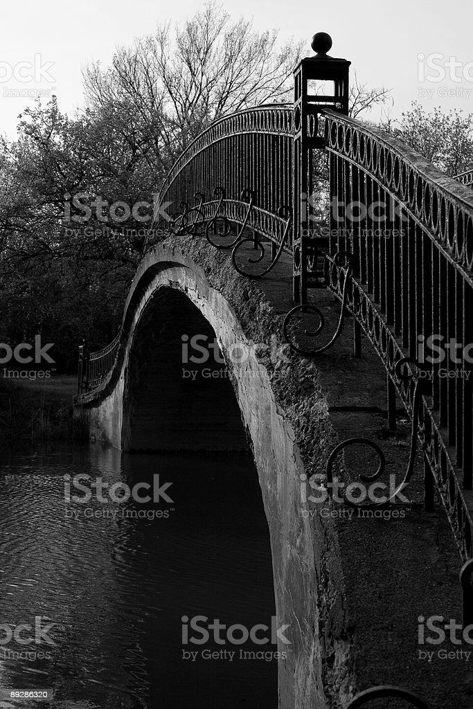 Old Rustic Bridge royalty-free stock photo