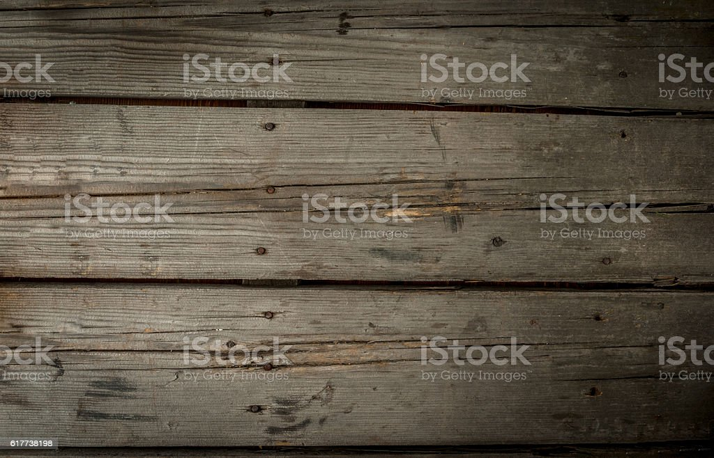 Old rustic wooden table stock photo