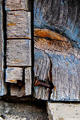 Old rustic wooden texture wall