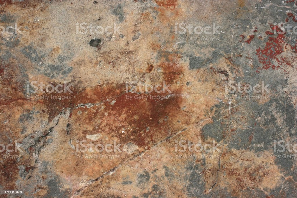 Old Rusty Background Concrete Texture Wallpaper royalty-free stock photo