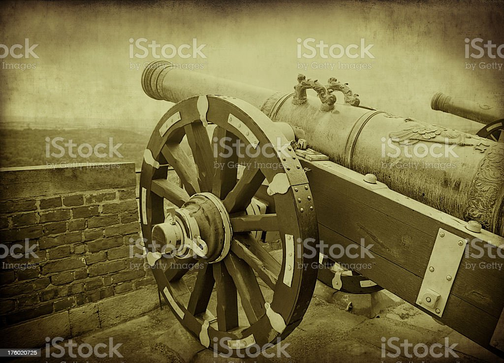 Old Rusty Canon royalty-free stock photo