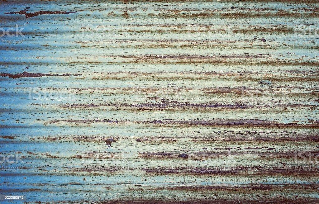 Old rusty Door detail stock photo
