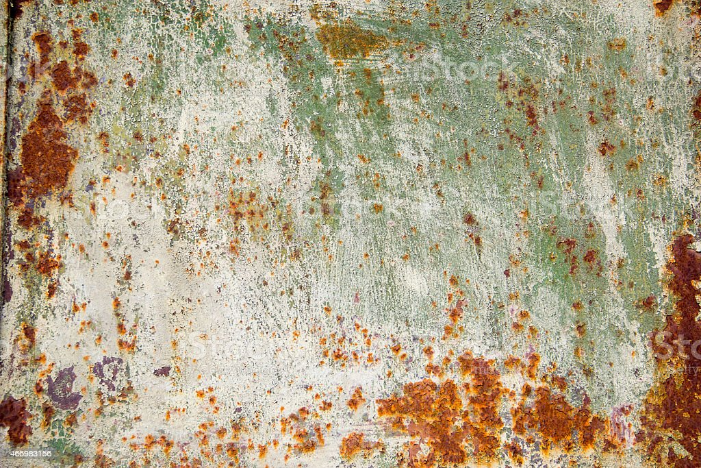 old rusty green background stock photo