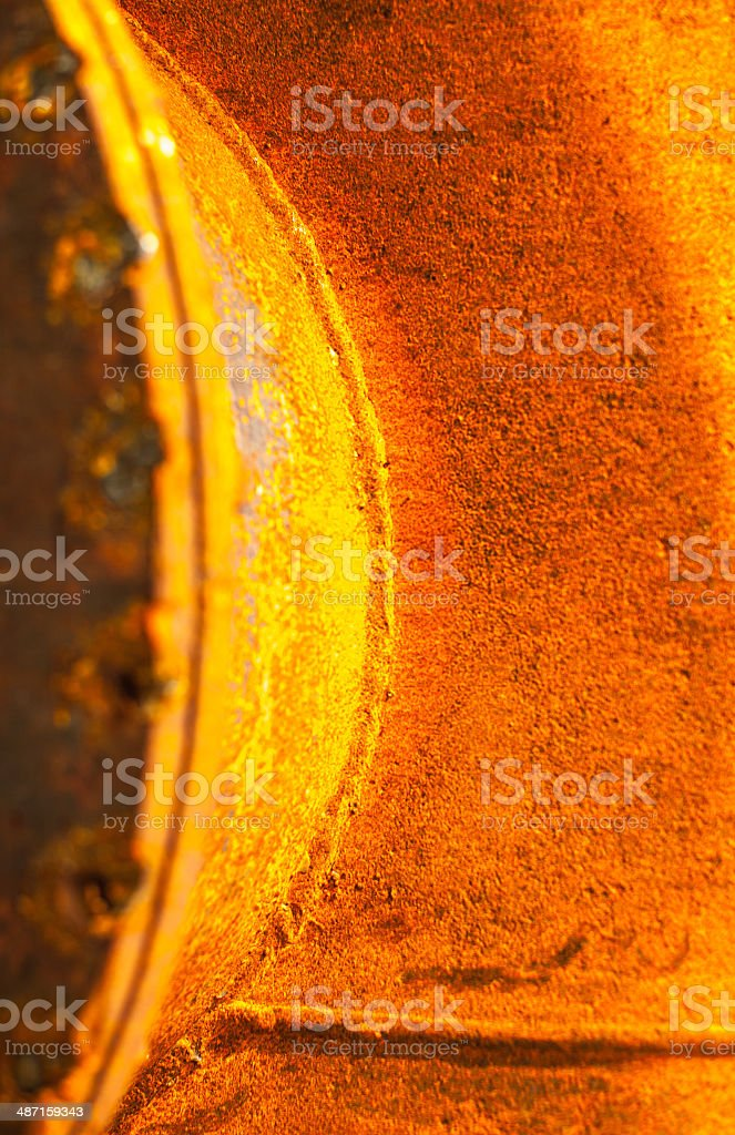 Old rusty iron texture stock photo