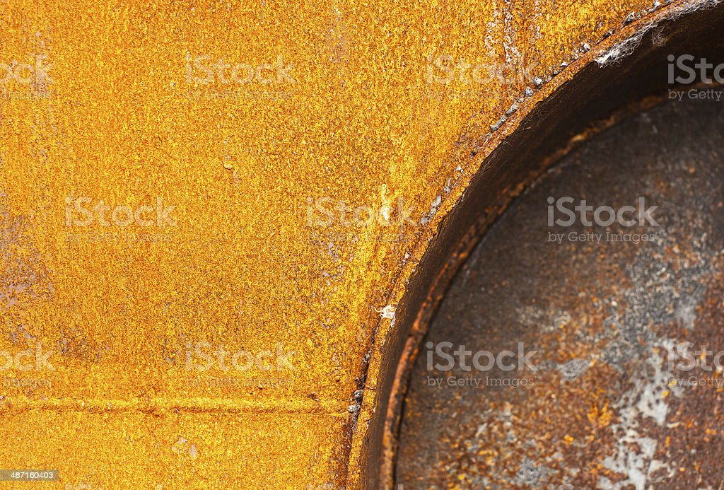 Old rusty iron texture royalty-free stock photo