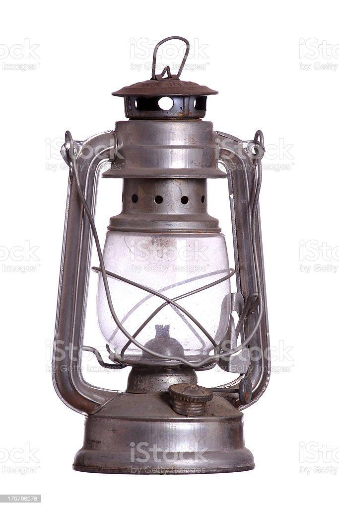 old rusty lamp stock photo