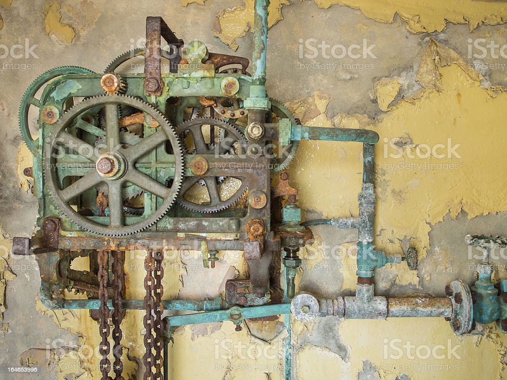 Old Rusty Mechanism royalty-free stock photo