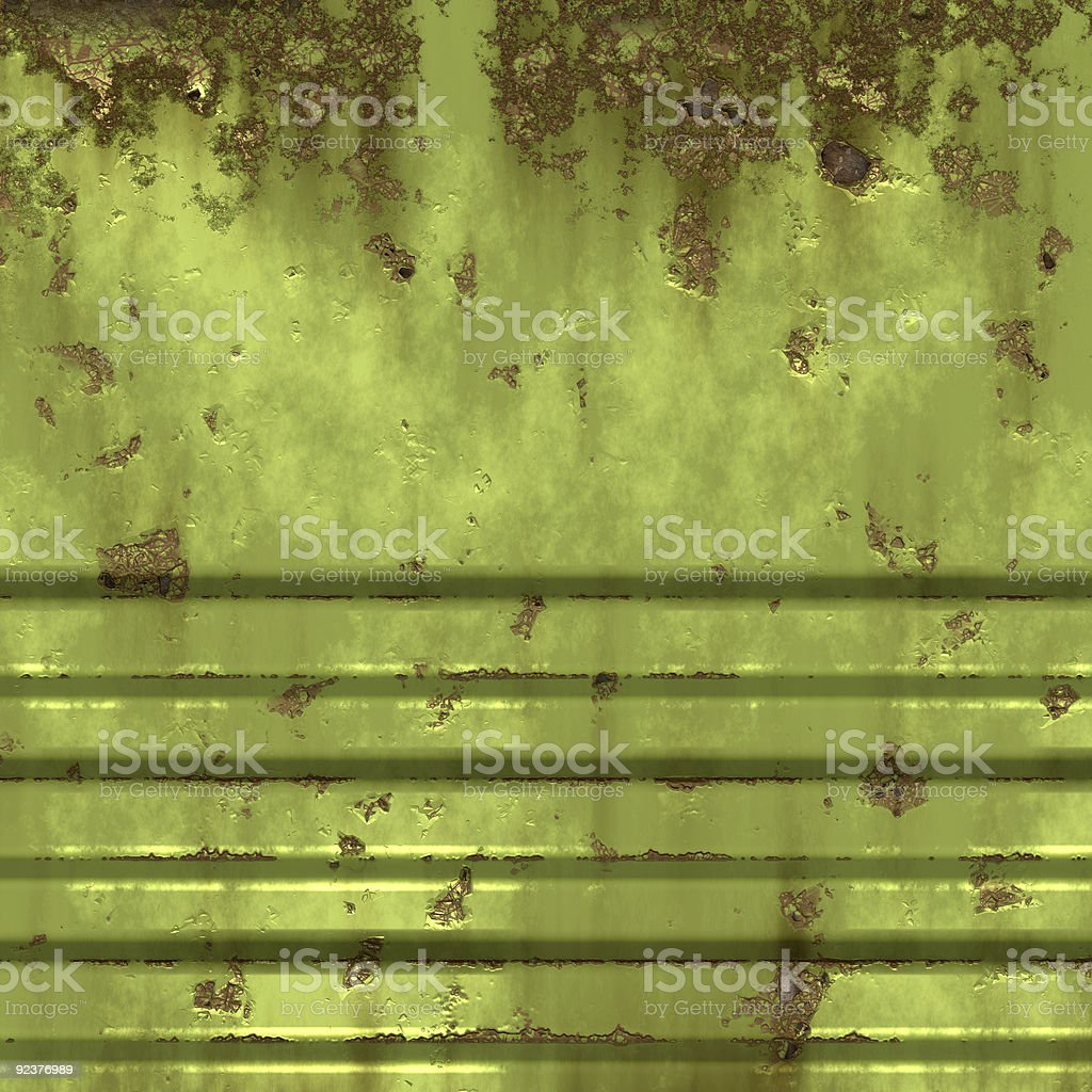 Old rusty metal door royalty-free stock photo