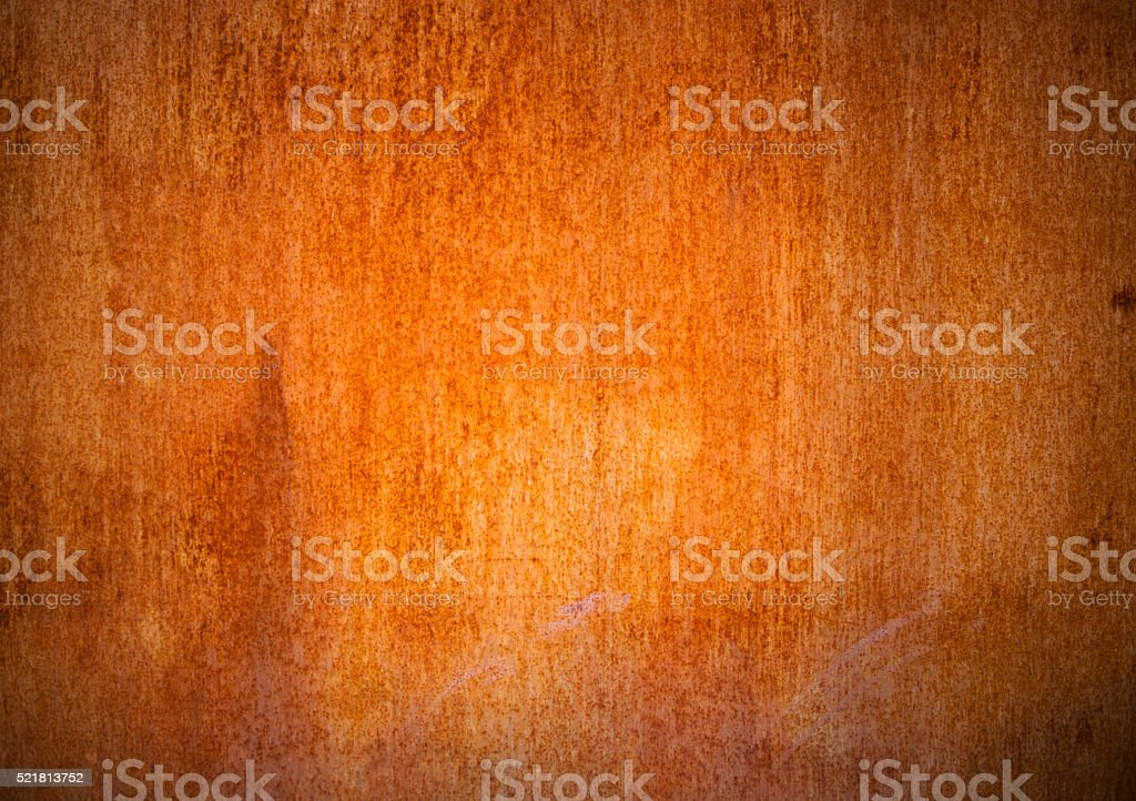 Old Rusty Metal Sheet stock photo