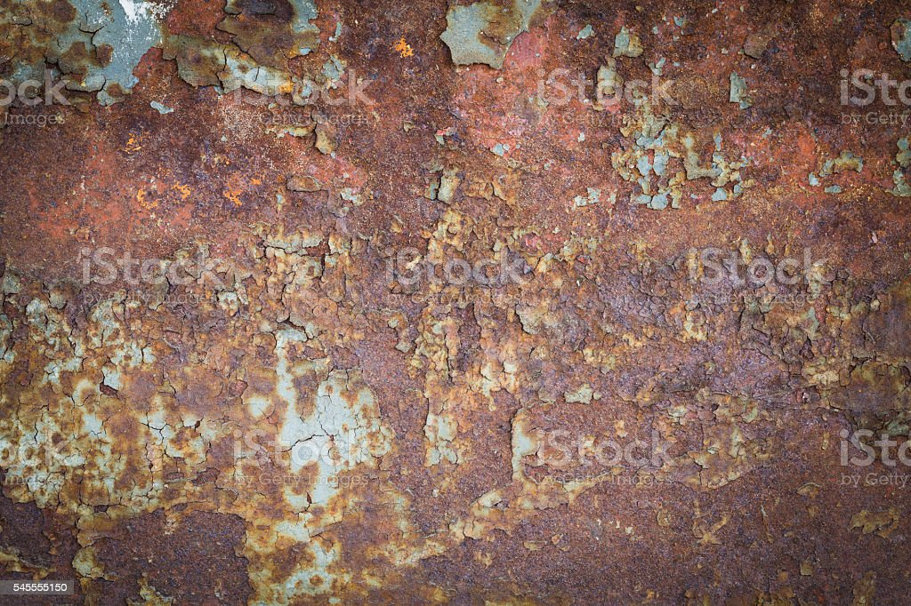 Old rusty metal sheet royalty-free stock photo