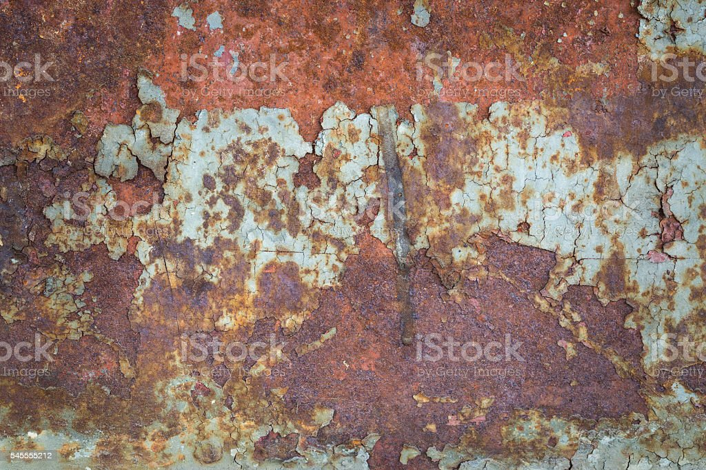 Old rusty metal sheet royalty-free stock photo