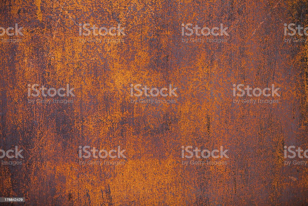 Old rusty metal surface stock photo