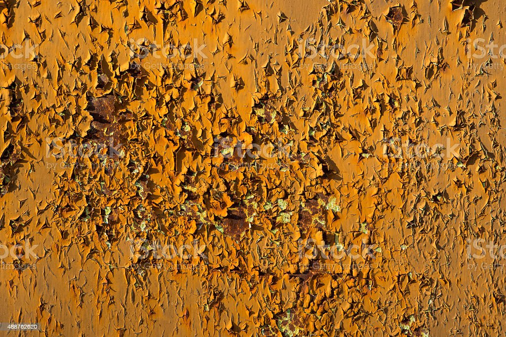 Old rusty metal surface. stock photo