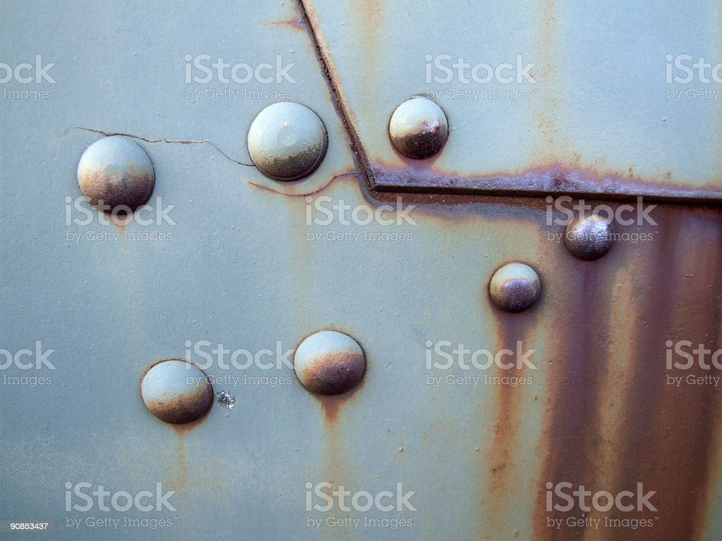 Old rusty metal surface royalty-free stock photo