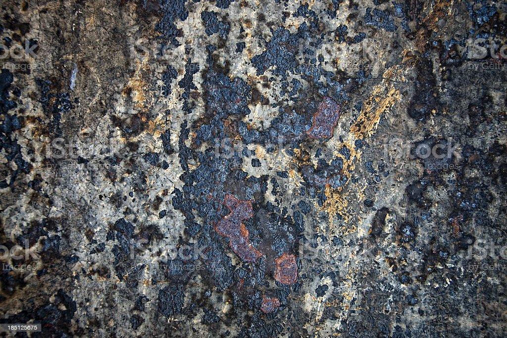 Old Rusty Metal Texture, XXXL Background royalty-free stock photo