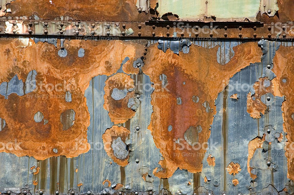 old rusty metall structure background royalty-free stock photo