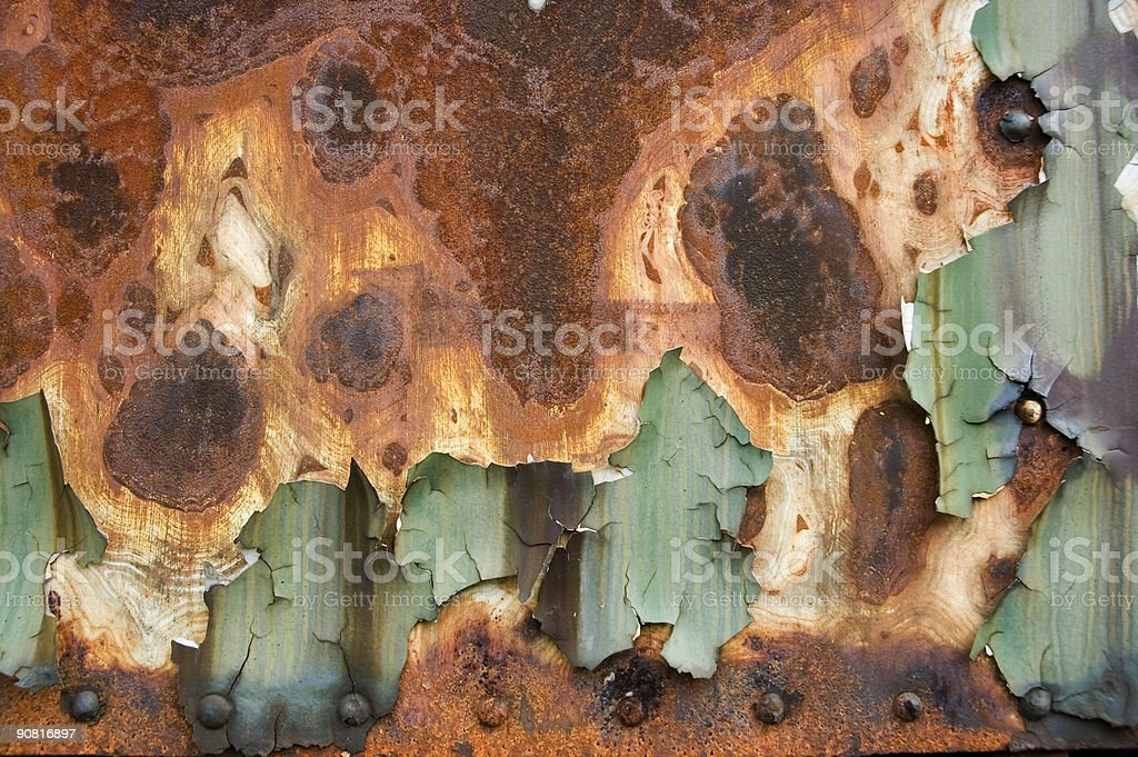 old rusty metall structure royalty-free stock photo