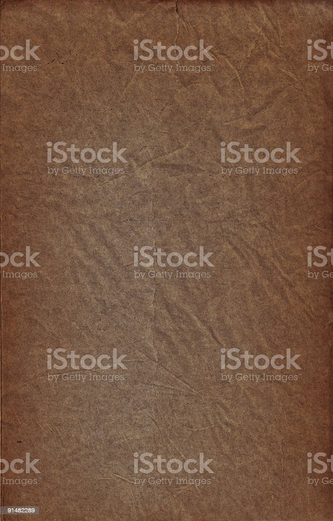 Old rusty paper I royalty-free stock photo