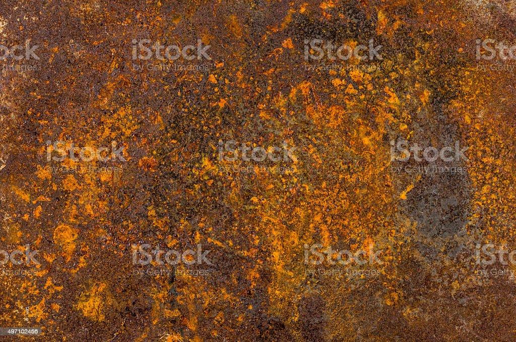 Old rusty sheet metal stock photo