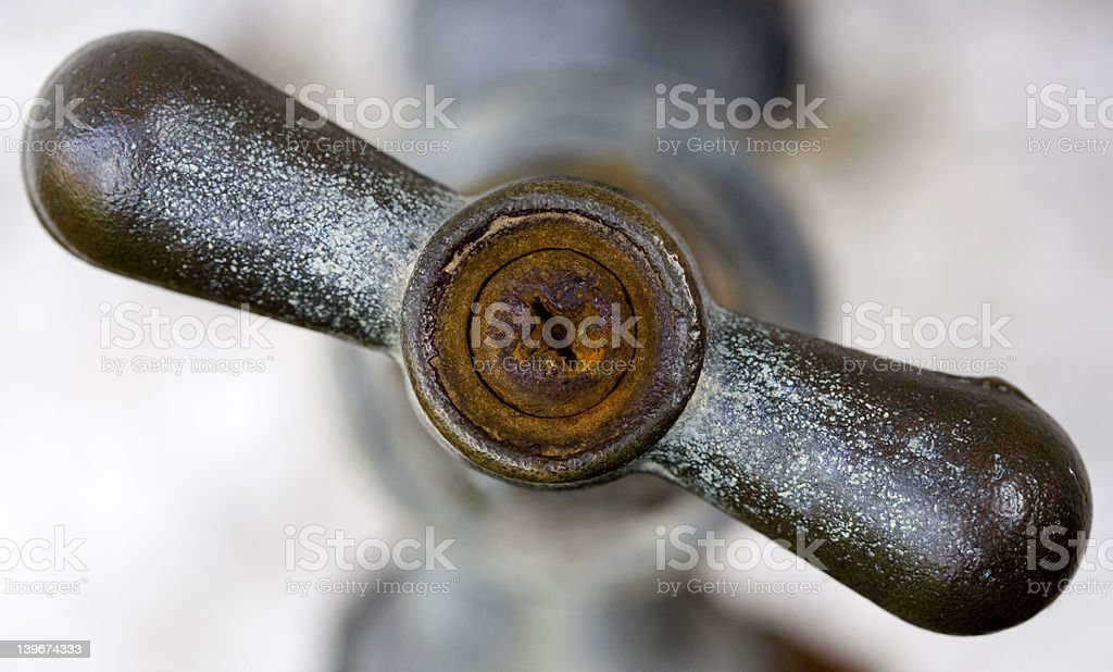 Old Rusty Tap - Shallow Depth of Field royalty-free stock photo