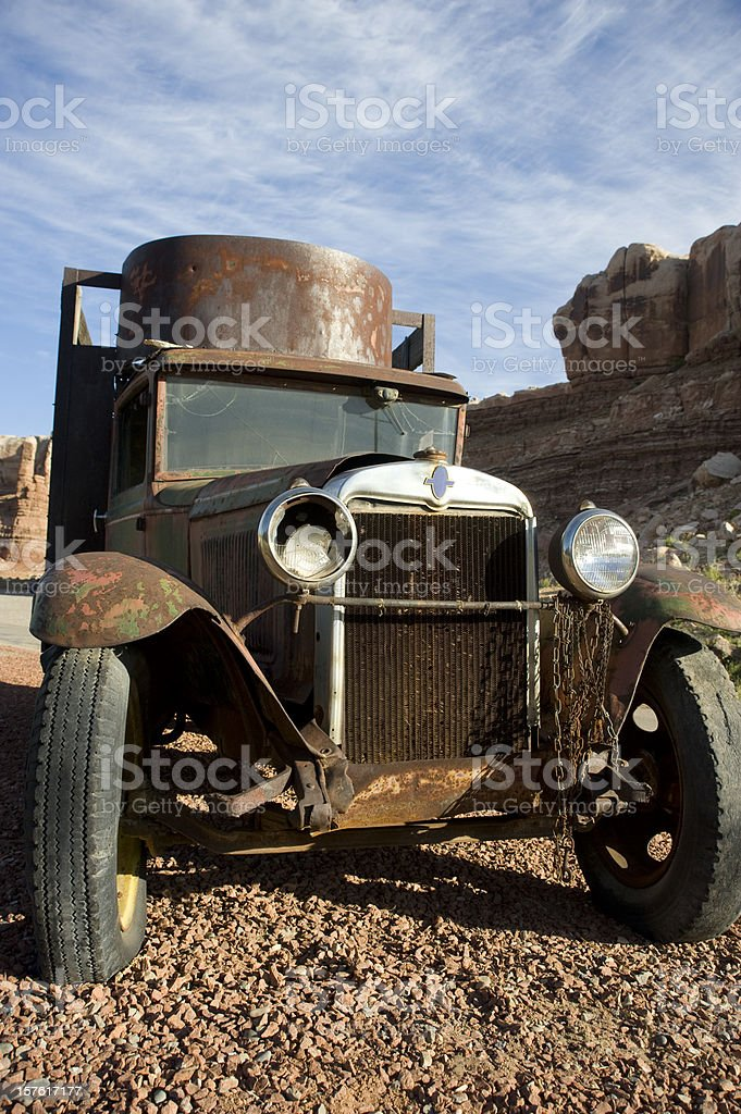 Old Rusty Truck royalty-free stock photo