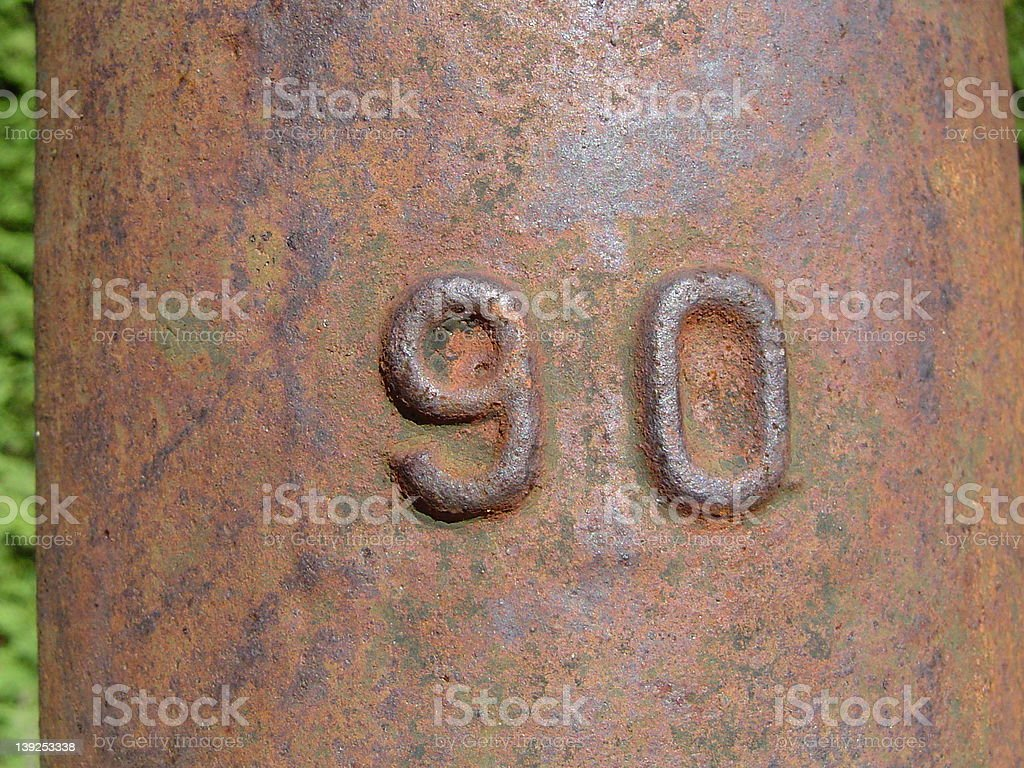 Old rusty water pump royalty-free stock photo