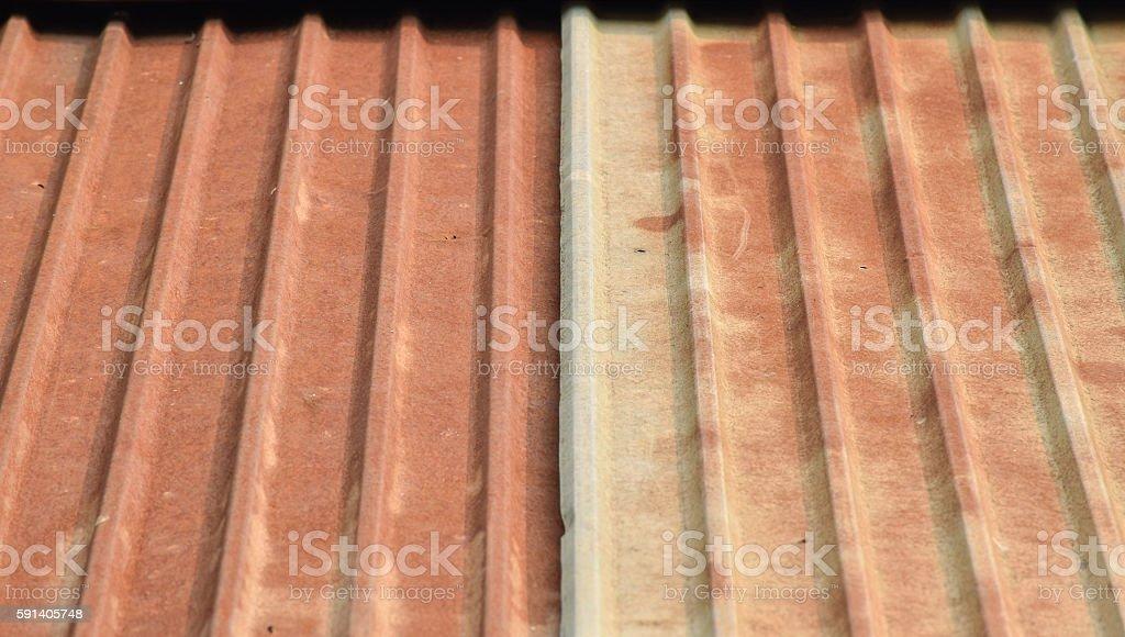 Old rusty zinc background stock photo
