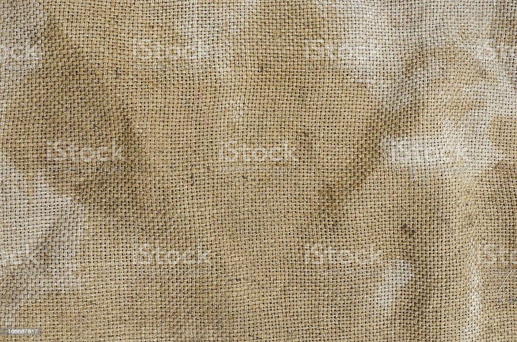 Old sack royalty-free stock photo