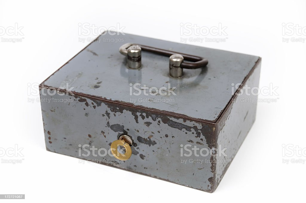 old safe royalty-free stock photo