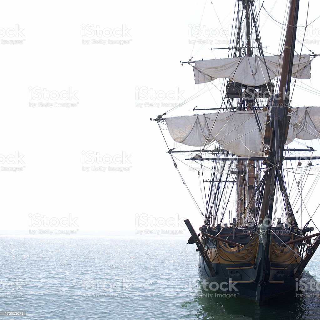 Old Sailing Ship stock photo