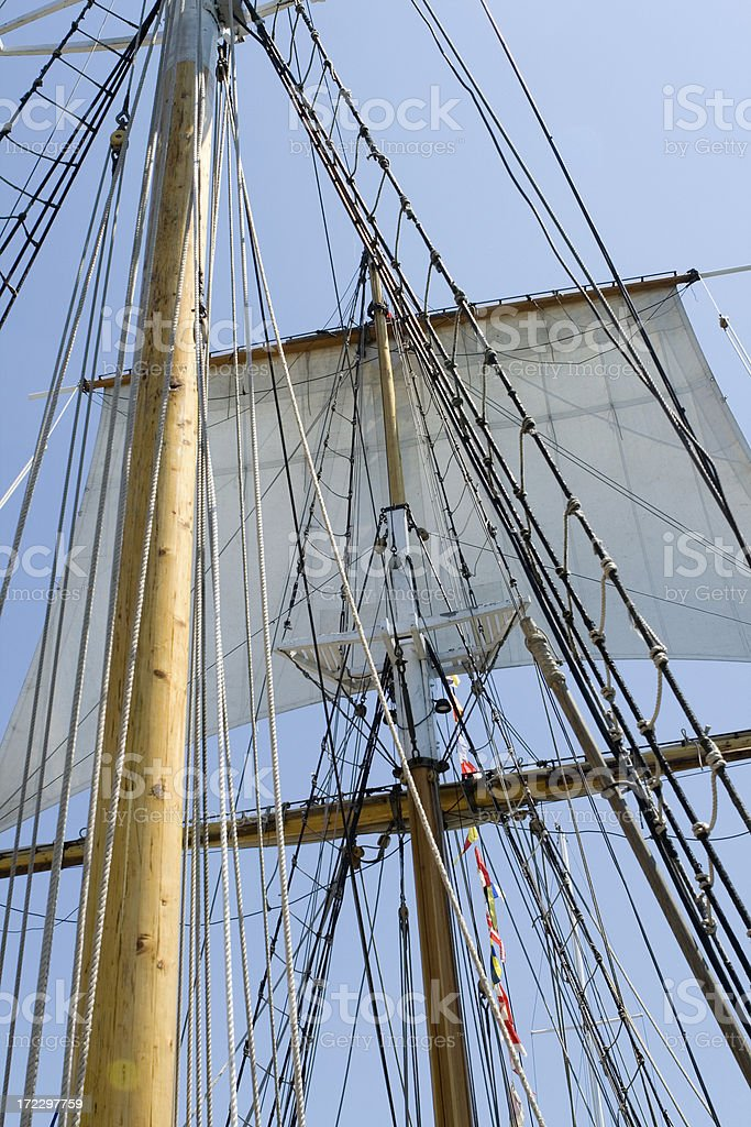old sails royalty-free stock photo
