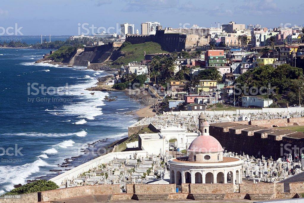 old San Juan stock photo