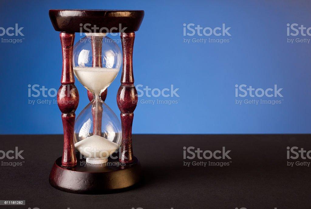 old sand clock stock photo
